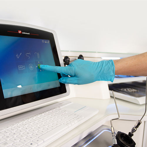 Touch-screen operation